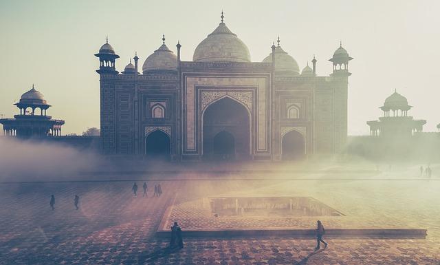 L'Inde-taj-mahal