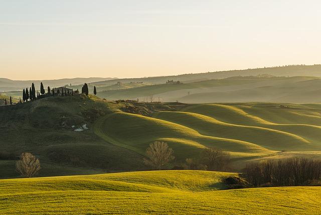 La Toscane, Italie