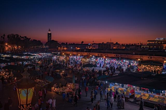 Le Maroc-marrakech