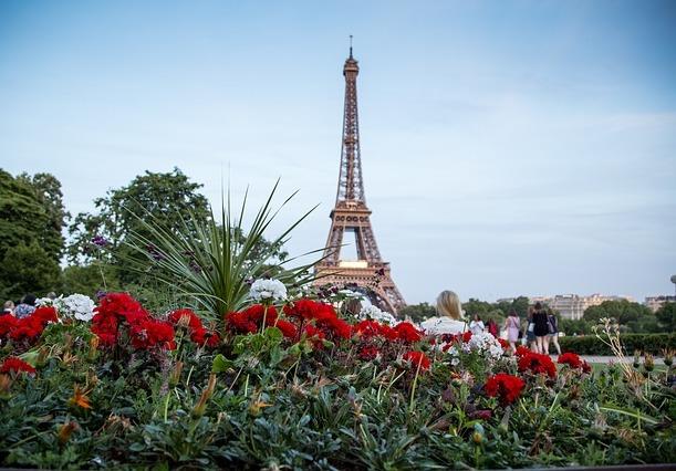 offrir un bouquet Paris